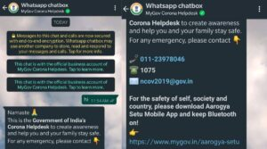 Read more about the article Here is how you can search for nearby vaccination centres with MyGov chatbot on WhatsApp