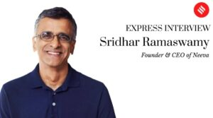 Read more about the article Neeva founder Sridhar Ramaswamy: 'We guarantee that your data is used to serve you better results and for nothing else'