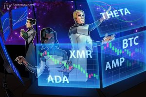 Read more about the article Top 5 cryptocurrencies to watch this week: BTC, ADA, THETA, XMR, AMP