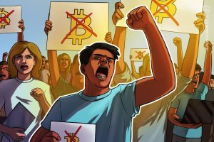Read more about the article Opposition groups gather as crypto law rolls out