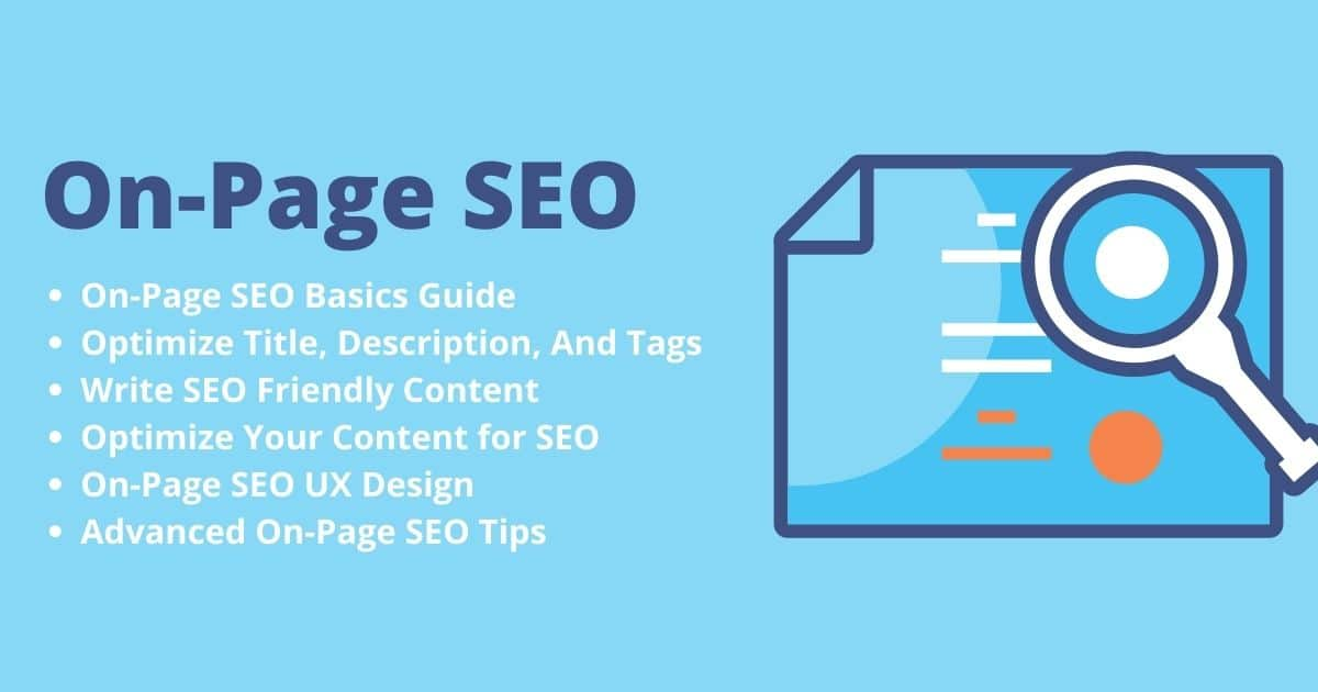 Read more about the article On-Page SEO Techniques   The Complete Advanced Guide For 2022