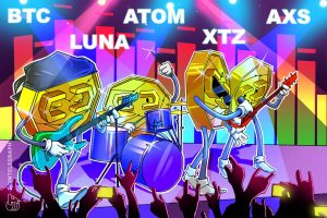Read more about the article Top 5 cryptocurrencies to watch this week: BTC, LUNA, ATOM, XTZ, AXS