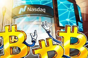 Read more about the article Valkyrie Bitcoin futures-linked ETF launches on Nasdaq, with share prices dropping 3% in first hour