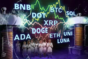 Read more about the article Price analysis 10/13: BTC, ETH, BNB, ADA, XRP, SOL, DOGE, DOT, LUNA, UNI