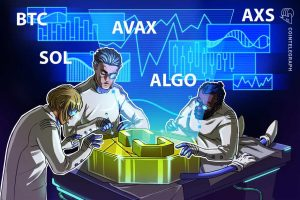 Read more about the article Top 5 cryptocurrencies to watch this week: BTC, SOL, AVAX, ALGO, AXS