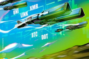 Read more about the article Top 5 cryptocurrencies to watch this week: BTC, DOT, UNI, LINK, XMR