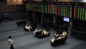Read more about the article Economic headwinds pull KSE-100 index down