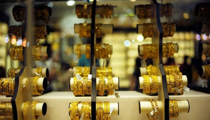 Read more about the article Gold price in Pakistan drops by Rs300 per tola