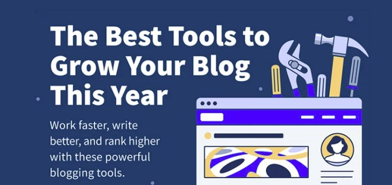 Read more about the article 27 Time-Saving Blogging Tools for a Supreme Content Marketing Strategy in 2022 [Infographic]
